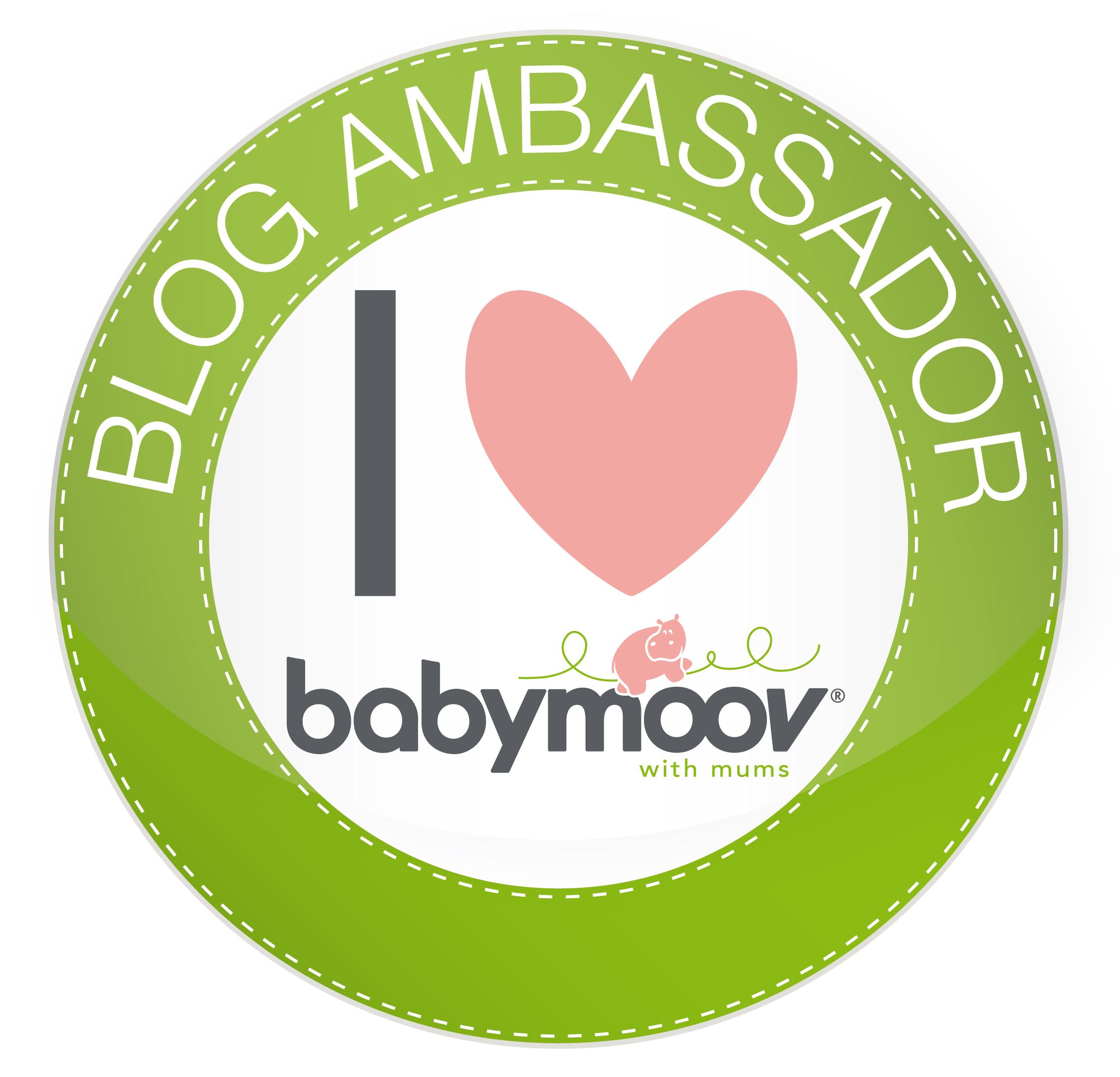 I'm a Babymoov ambassador