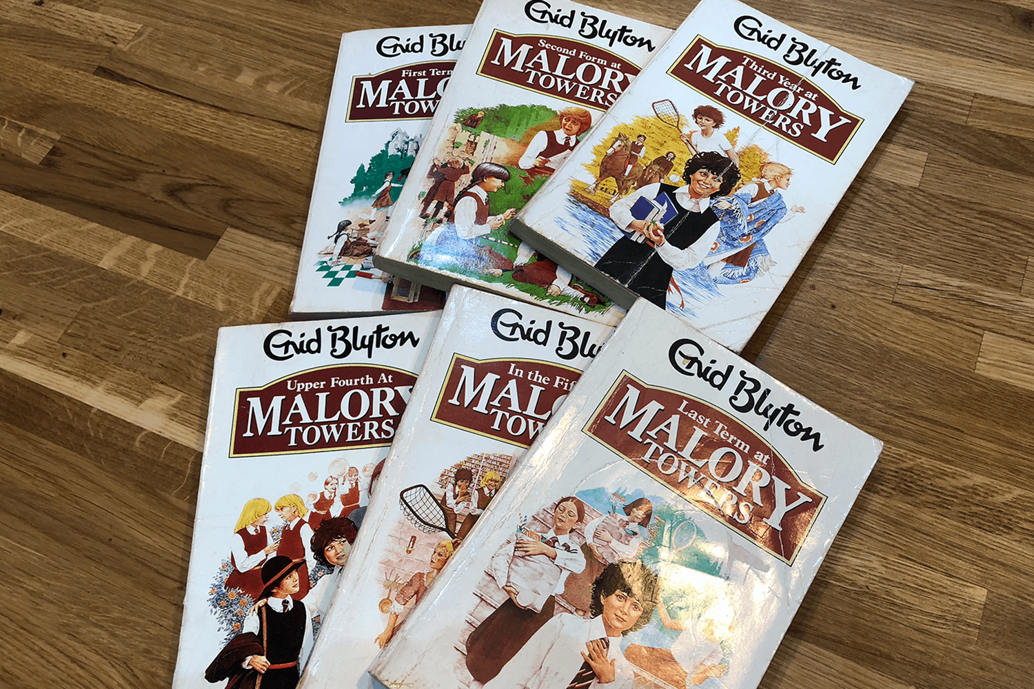 Malory Towers books - favourite books I loved to read as a child