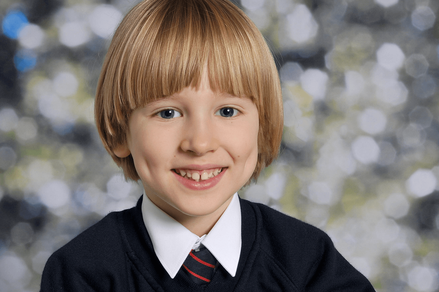 Toby in his school reception picture