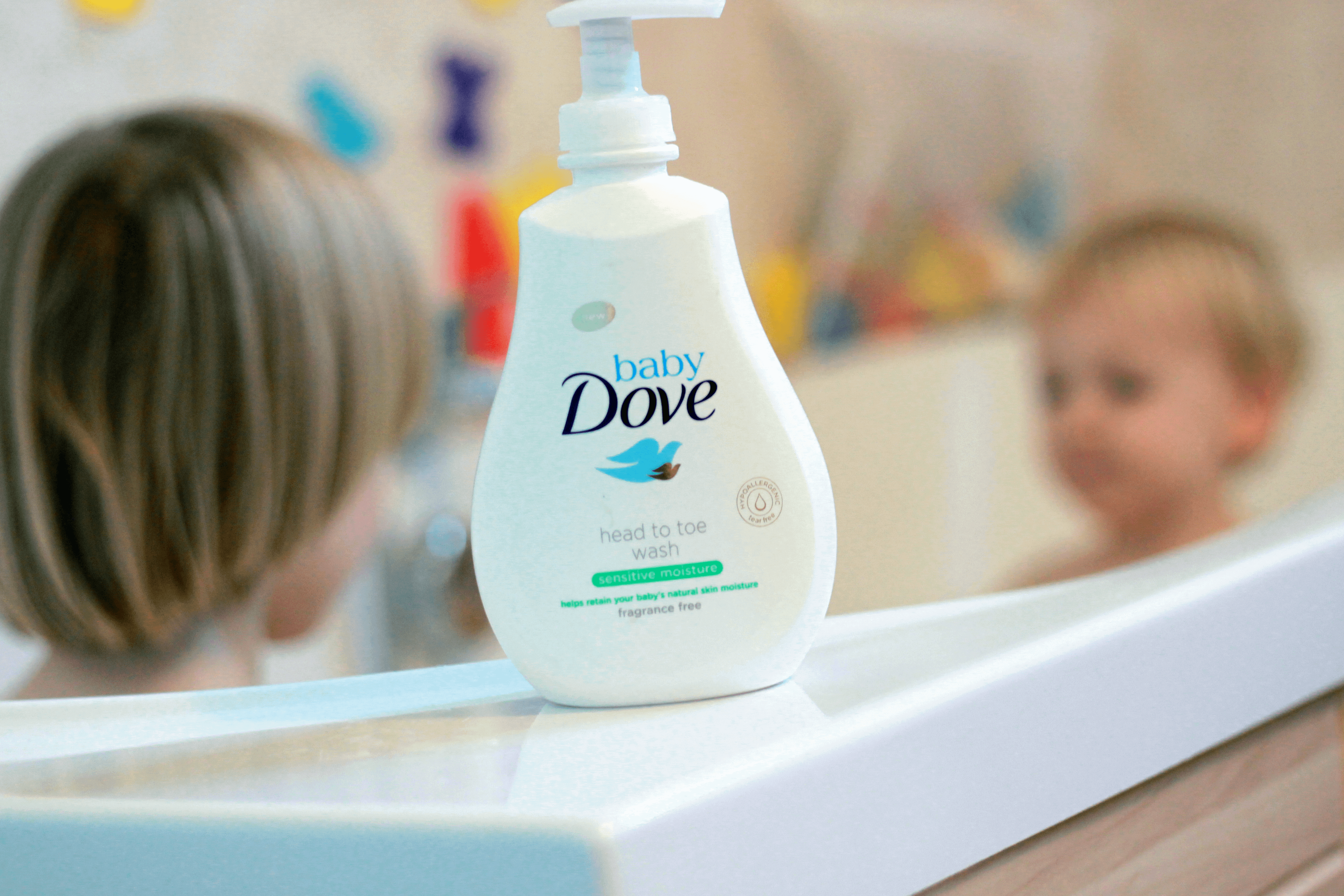 Baby Dove Sensitive Fragrance Free Head to Toe Wash