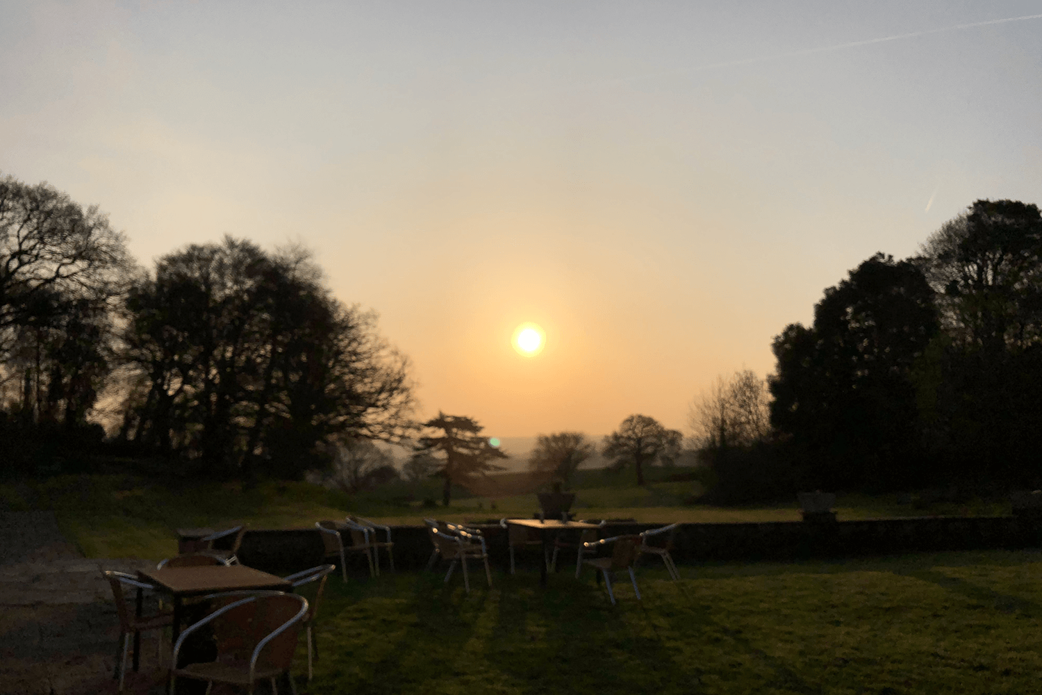 Sunrise at Croydon Hall