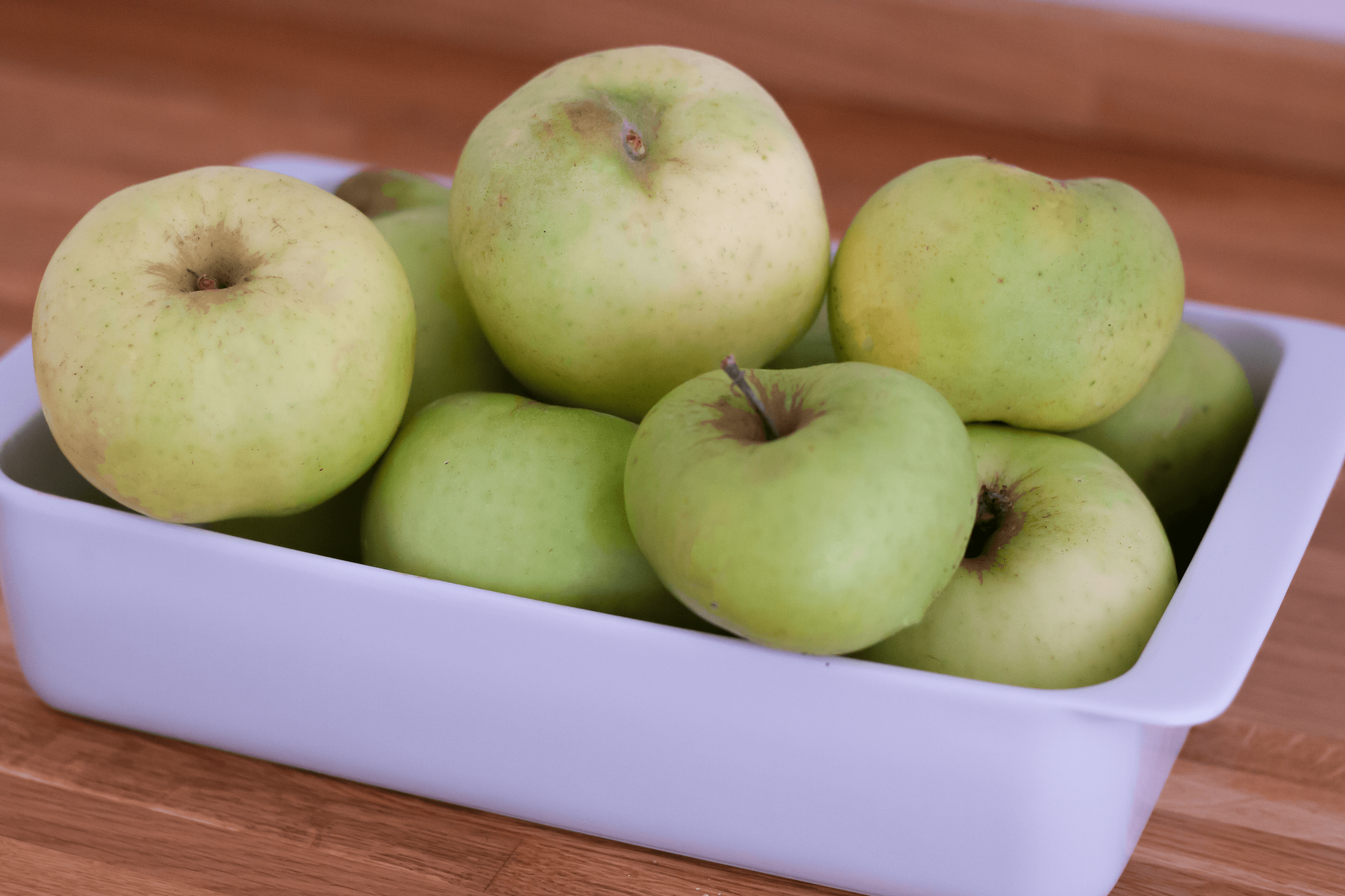 Homegrown apples - perfect for autumn bakes