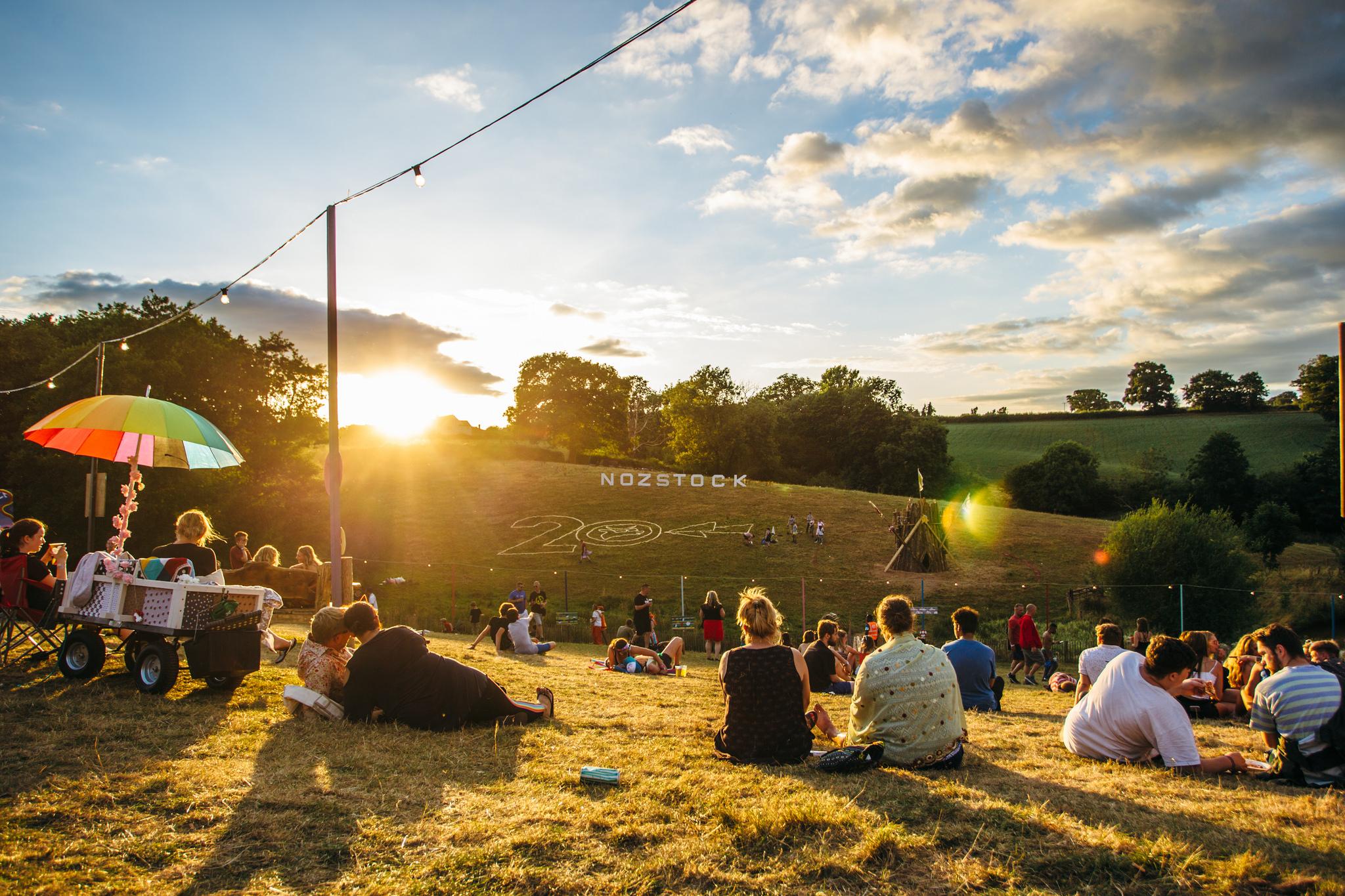 Nozstock 2018 sunset - credit Chloe Knott